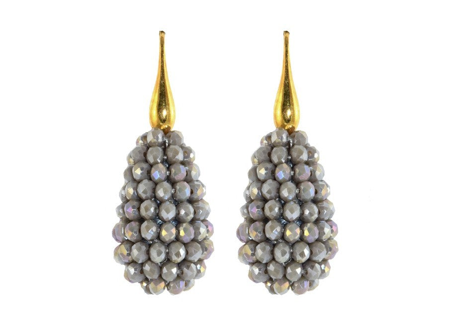 Grey small Crystal drops