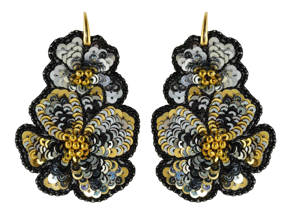 Black Mariposa | PatchArt Earrings