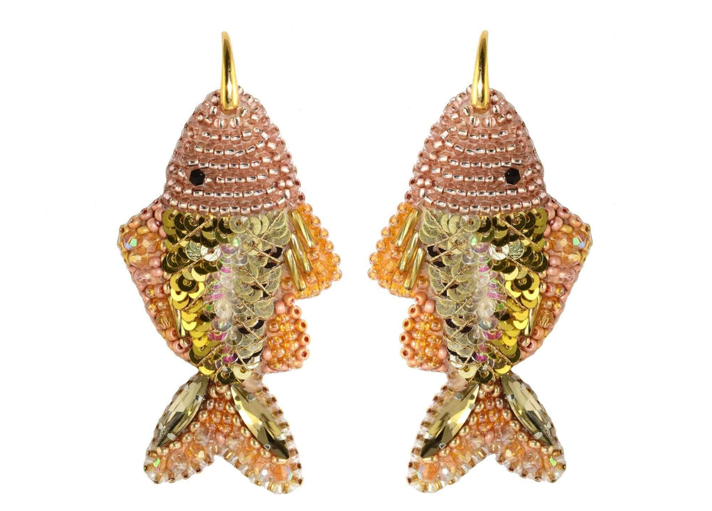 Blush Fishes | PatchArt Earrings