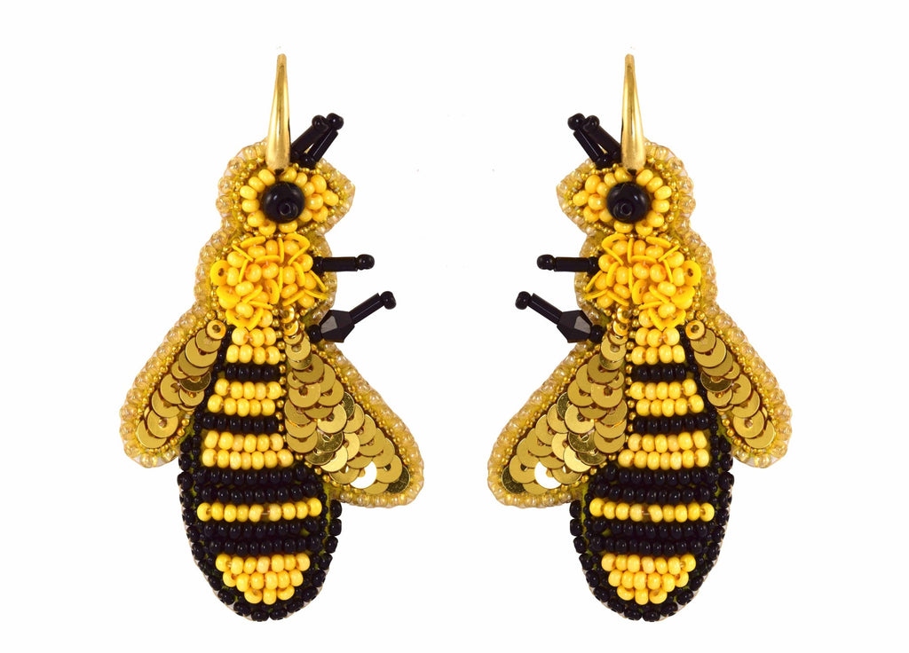 Busy Bee's | PatchArt Earrings