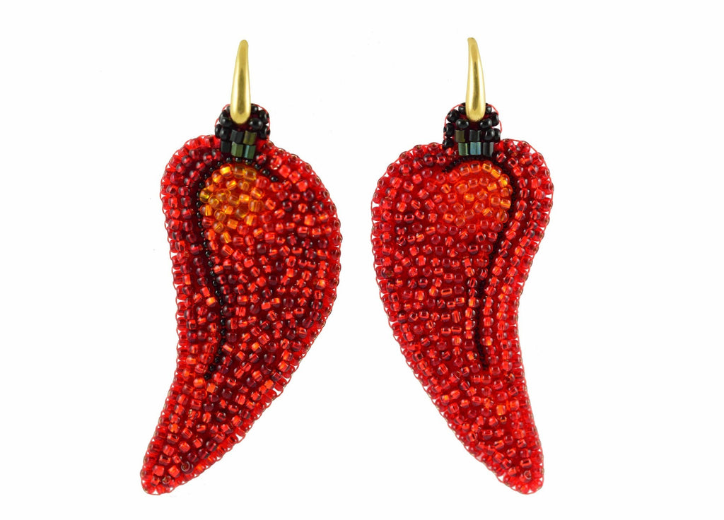 Chili Peppers | PatchArt Earrings