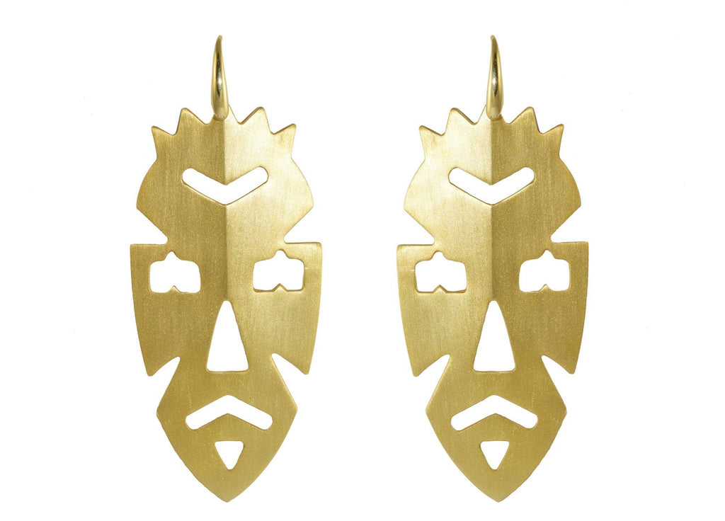 Dogon Earrings (online only) | Gold Line Earrings