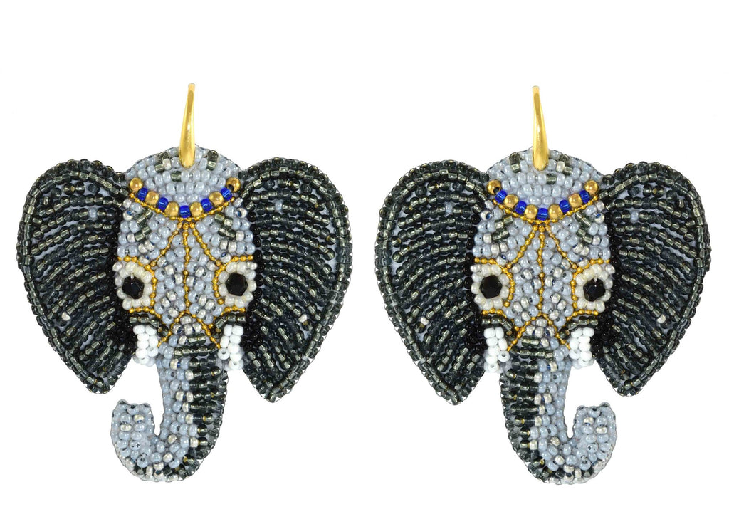 Elephants | PatchArt Earrings