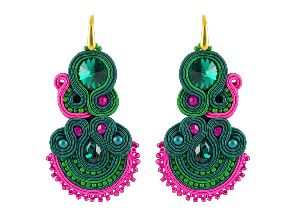 Flowerista | Velvet Dreams Earrings