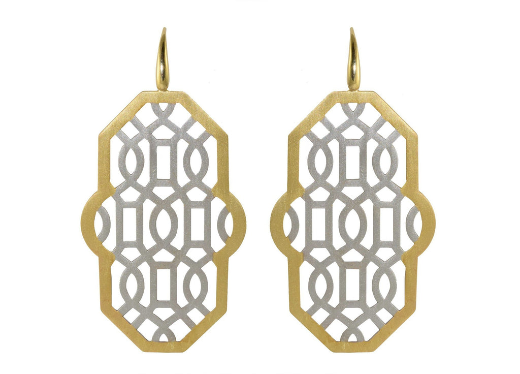 Harfi earrings (only available online!) | Gold Line Earrings