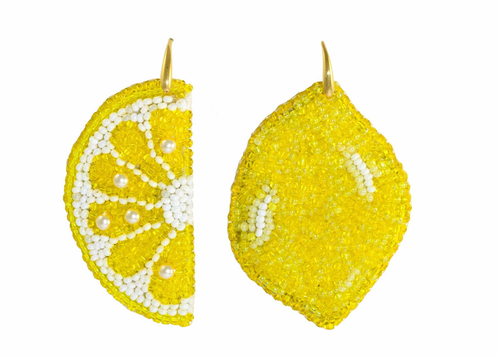 Lemons | PatchArt Earrings