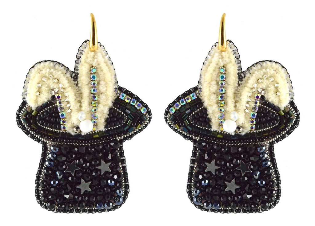 Magic Hat | PatchArt Earrings