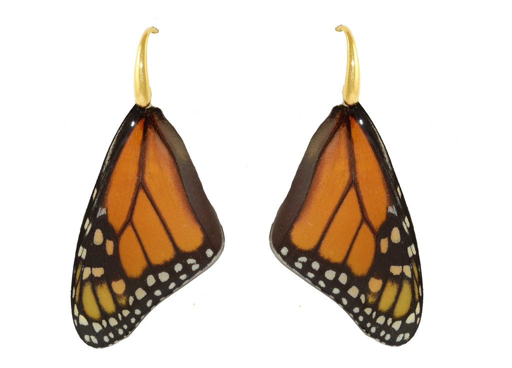 Madame Monarch | Butterfly Earrings
