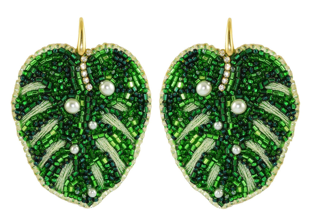 Miccy's Monstera's | PatchArt Earrings