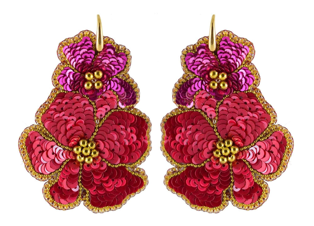 Pink Mariposa | PatchArt Earrings