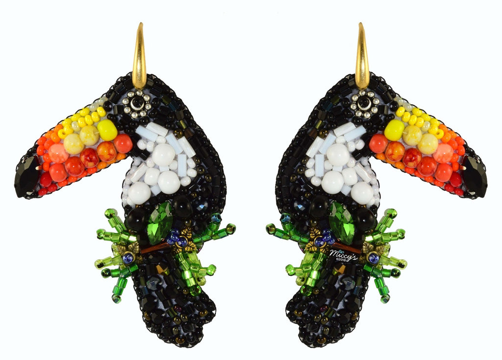 Toucan's | PatchArt Earrings
