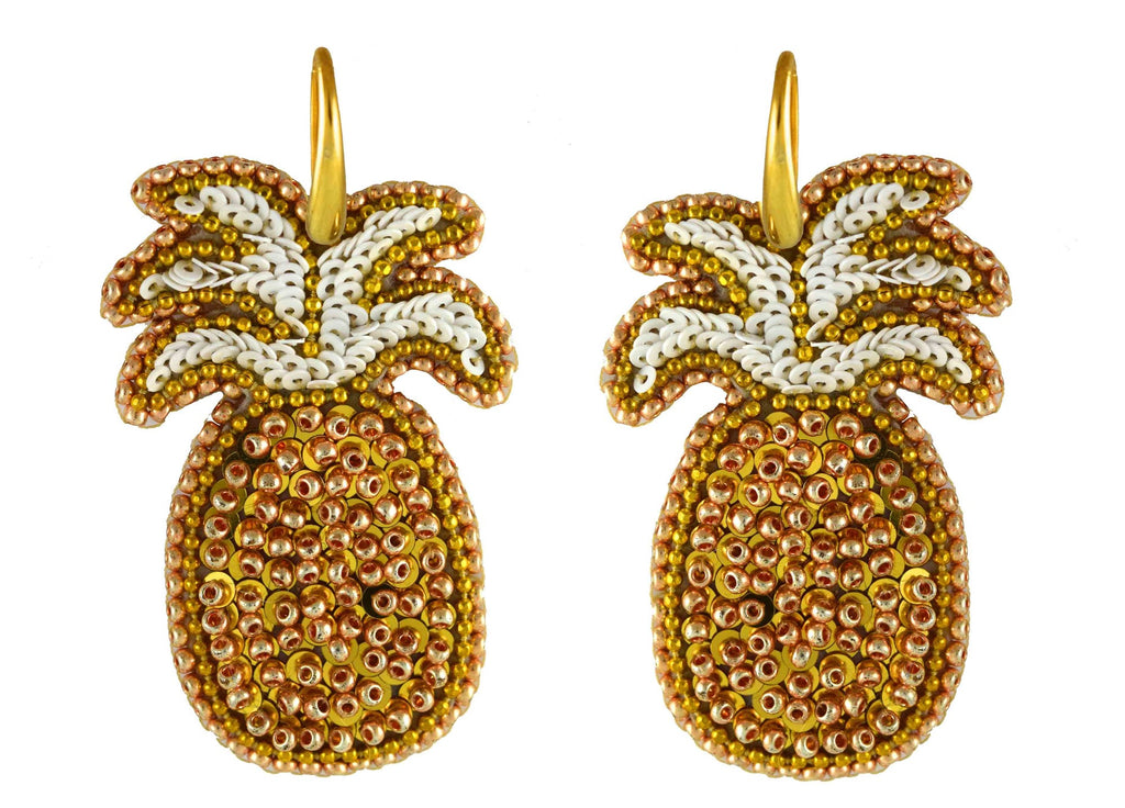 Pineapple Dream | PatchArt Earrings