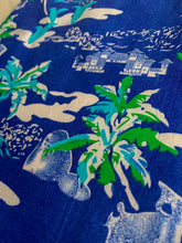 Load image into Gallery viewer, The Aloha Shirt — Blue Dream