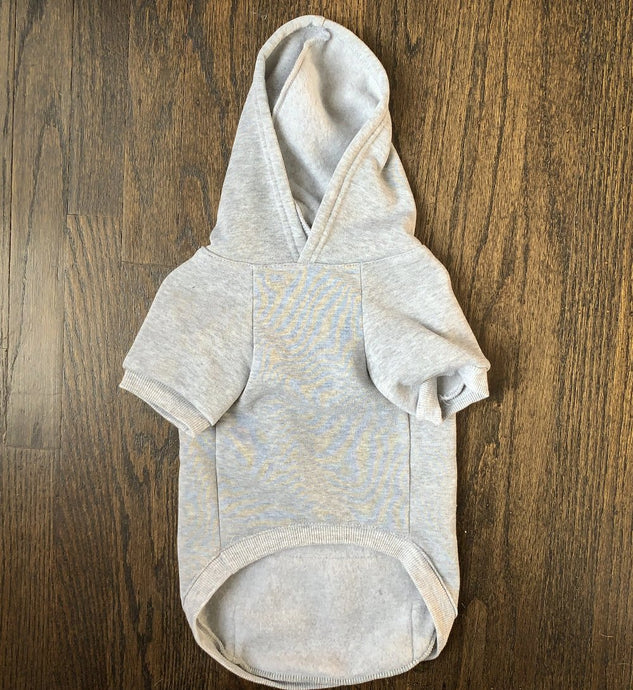 The Basic Hoodie - Heather Grey