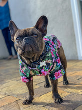 Load image into Gallery viewer, The Aloha Shirt — Floral Black
