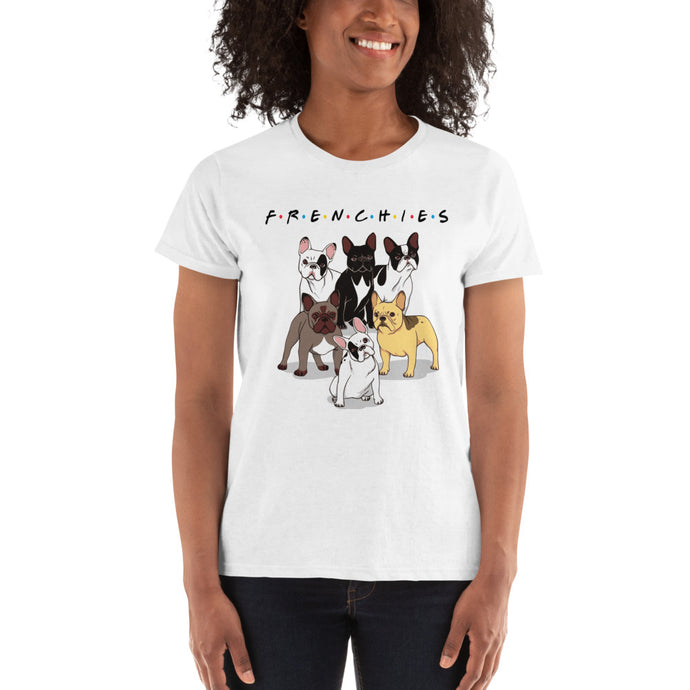 Frenchie Friends Premium Womens Shirt