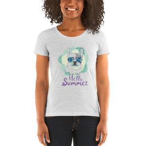 Summer Love Frenchie Women's Shirt