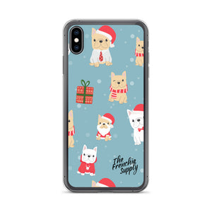 Frenchie iPhone Case - Holiday Fun