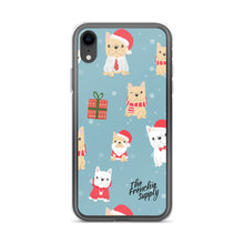 Load image into Gallery viewer, Frenchie iPhone Case - Holiday Fun