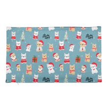 Load image into Gallery viewer, Holiday Frenchie Premium Pillow Case