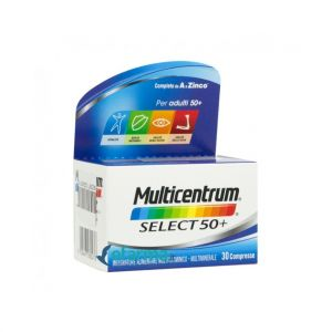Multicentrum Select 50+ Integratore 30 Compresse