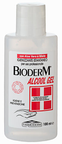 BIODERM ALCOOL GEL con Tea Tree e Miele 100 ml