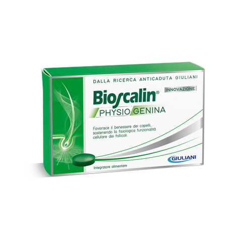 BIOSCALIN PHYSIOGENINA 30 COMPRESSE ANTICADUTA