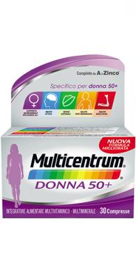 multicentrum donna 50+ integratore 90 compresse