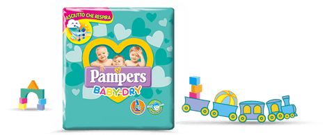 PAMPERS BABY DRY TG 5 JUNIOR 11-25 Kg - 46 pezzi