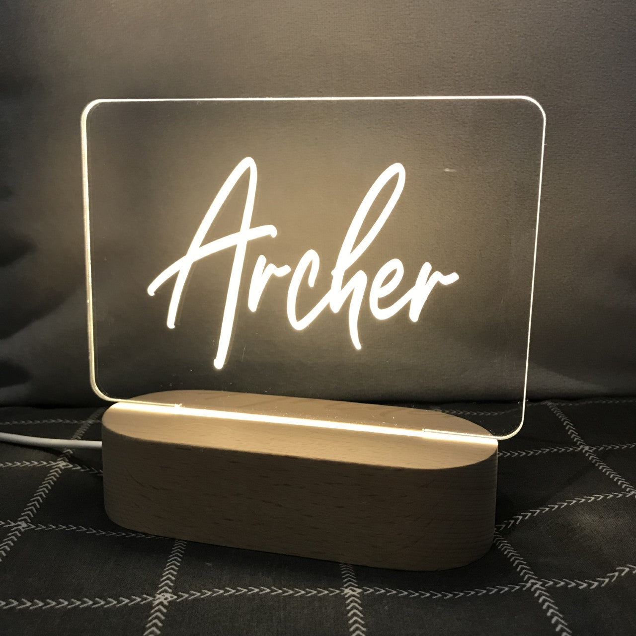 Personalized Photo Night Light for Baby