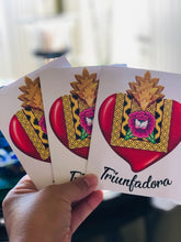 Load image into Gallery viewer, Triunfadora Stationery Gift Cards Set