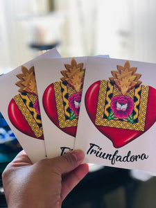 Triunfadora Stationery Gift Cards Set