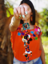 Load image into Gallery viewer, Tagua Handmade Colombian Keychain