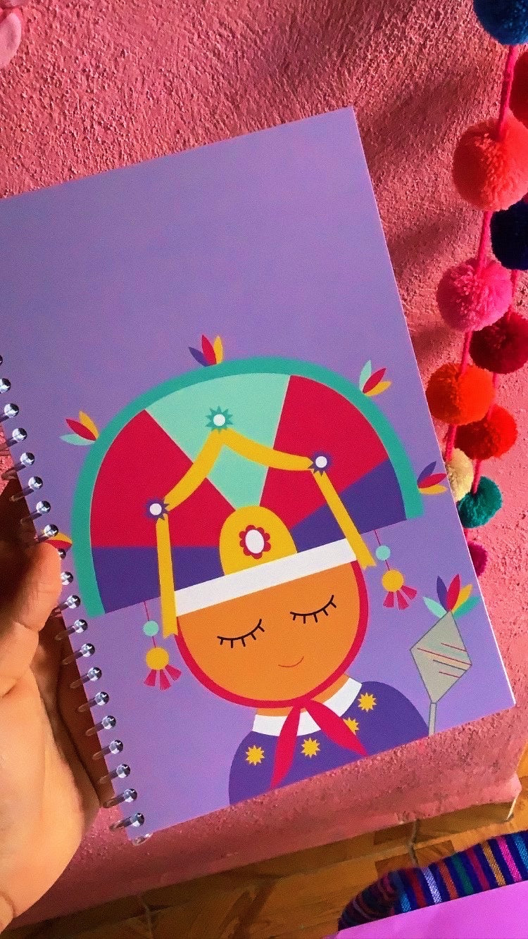 El Danzante de la Pluma Notebook Stationery