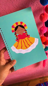 Muñeca Lele Notebook Stationery