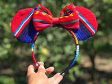 Load image into Gallery viewer, Minnie Mouse Sarape Ears