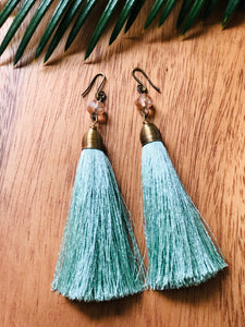 Charito Tassel Drop Earrings
