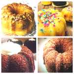 4 pack of mini bundt cakes