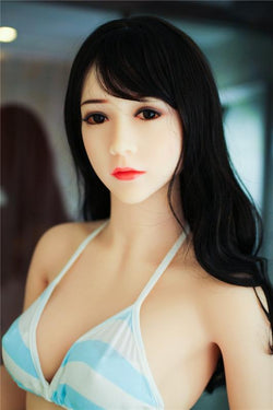 153cm (5ft) A-cup  Japanese sex dolls,sex toy,sex products for male-Gia