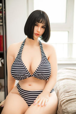 160cm (5ft3') H-Cup Thick Love Doll with Hot & Sexy Curves-Annabella
