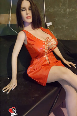 "160cm(5ft3"") H-cup Life Size Japanese Style Realistic Sex Doll Silicone Adult Toys for Men-Aubrey"