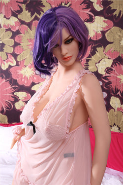 "160cm(5ft3"") H-cup Super Curvy Gothic Mannequin real sex doll-Leona"