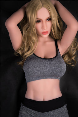 167cm (5ft6') G-cup full body lifelike real love Solid Sex Doll -Leia