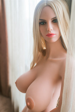 152cm (5ft') H-cup real love doll,sex doll , TPE sex doll-Ashlee