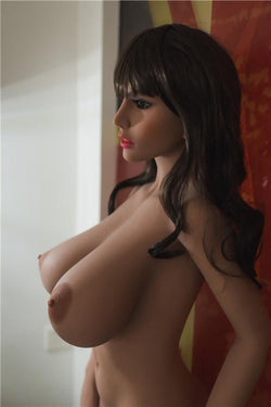 156cm(5ft1') H-cup  Japanese Anime Lifelike Silicone Sex Dolls Big Breast Love Dolls for Men-Molly