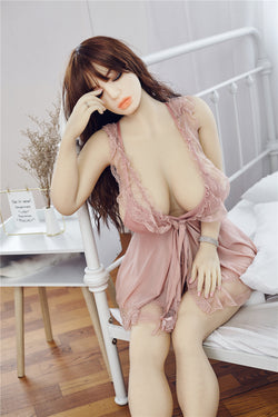 "158cm(5ft2"") G-cup IR09 sexy sex doll,love doll with big tits ass,big breasts sex doll-Aurora2"