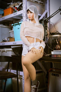 162cm (5ft3') B-Cup The Best Real Love TPE Doll,Japanese sex doll, cheap sex doll-Amiyah