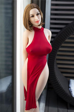 156cm(5ft1') G-cup transsexuals  lady -boy real sex dolls-Kyra
