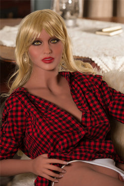 "157cm (5ft2"") G-cup real love doll ,sex doll-Sonya"