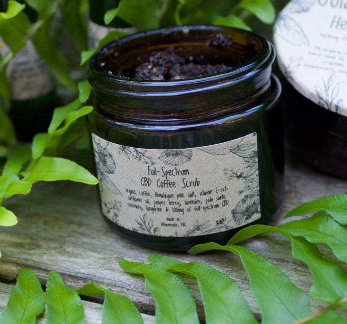 CBD Coffee Scrub